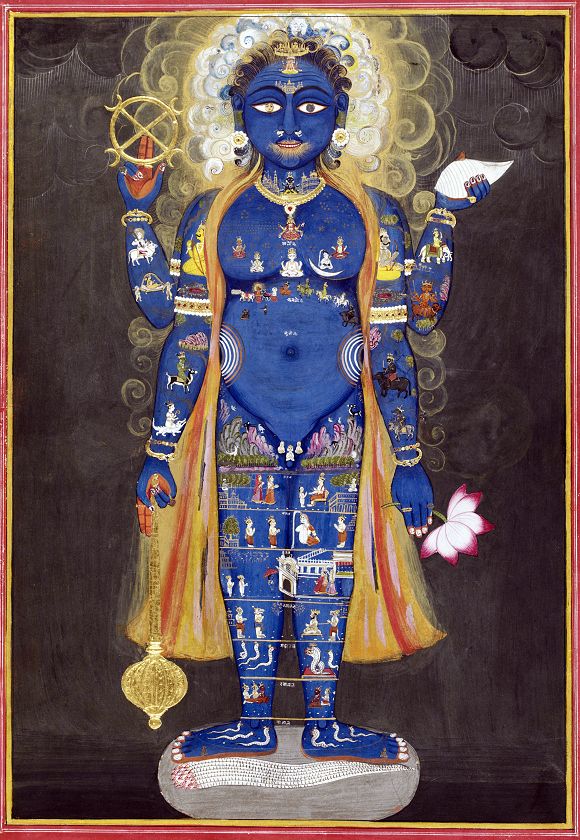 Virāṭ-rūpa or Viśva-rūpa - the Lords Cosmic Form