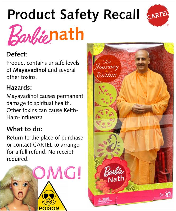 Radhanath, BarbieNath Puppet Guru