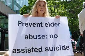 EUTHANASIA OPPONENTS WORRY ABOUT SELFISH MOTIVES
