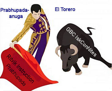 Why the bull and the torero?